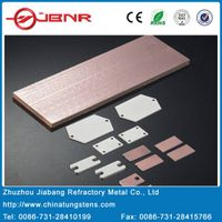 Molybdenum Copper Heat Sink for Electronic Sealed