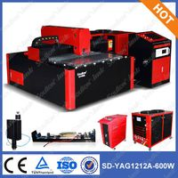 SD-YAG 1212 laser cutter machine of cutting iron plate thumbnail image