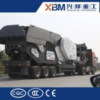 High performance mobile crusher / mobile stone crusher thumbnail image