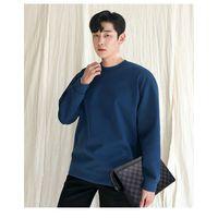 Men's handbags New Trendy Checkered Clutch Bags Korean fashion clutch leather envelope bags thumbnail image