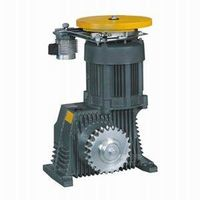 Escalator Geared Traction Machine , VVVF Drive
