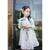Promotion Printed Cotton Child Baby Dress Model thumbnail image