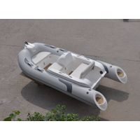 Liya CE Certificate PVC/Hypalon Material inflatable boat with outboard motor.