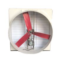 FRP WALL MOUNTED VENTILATOR WITH THREE RED BLADES thumbnail image