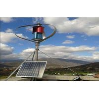 600w no noise vertical wind turbine generator for home use