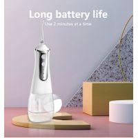 Electric USB Charging Cordless Oral Irrigator Portable Dental Water Flosser for Travel and Home Care thumbnail image