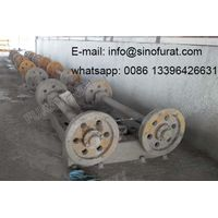 Complete Concrete Electricity Pole Machine Equipment For East Africa