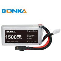 Bonka Power GR 1500mAh 80C 4S1P