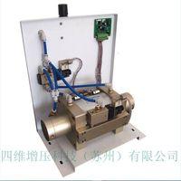 Electromagnetic pneumatic booster pump