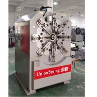 Cosmetic pump pressing spring forming equipment