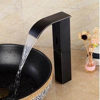 Antique Brass Black Bronze Automatic Single Cold Free Hands Bathroom Sink Tap TB320T thumbnail image