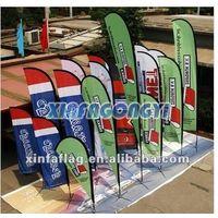 outdoor teardrop flags