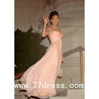 Best Selling Jennifer Lopez Dress Maid In Manhattan Sweetheart Light Pink Long Chiffon Celebrity Dre