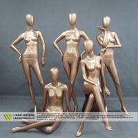 High quality plating female gold mannequins thumbnail image