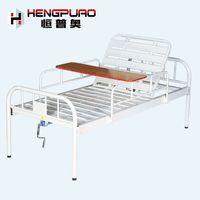 single crank medical furniture elderly care adjustable cheap hospital beds for sale