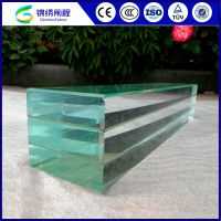Rich Experience Color Laminated Glass Table