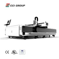 FLC3015P 500W Fiber Laser cutter Machine for cutting stainless steel for sale