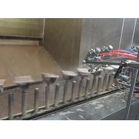 high quality gun-fixed automatic uv paint line