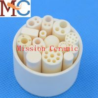 Porous alumina tube