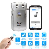 WAFU Bluetooth Door Lock, App Door Lock for Home, Hotel, Office
