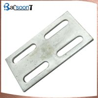 Custom steel stamping plate with hole made in China