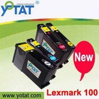 Ink cartridge for Lexmark 100/105/108XL with chip