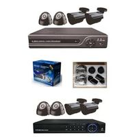 Hanwal 4ch DVR Kit for family security