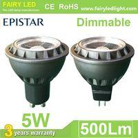 Triac Dimmable MR16 GU10 E27 Spot Bulb 3W 5W 12V 110V 220V 85-265V