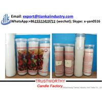 wholesale religious prayer glass jar candles thumbnail image