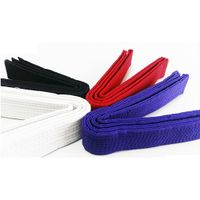 factory wholesale custom POOM taekwondo belts judo belts