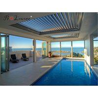 Sun shade opening roof,Outdoor rainproof louver,Motorized shutter