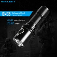 Imalent DM35 powerful LED flashlight