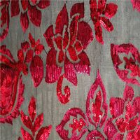 sequins mesh fabric LP008
