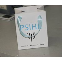 custom wholesale luxury printed paper gift bag with string for packing/shopping