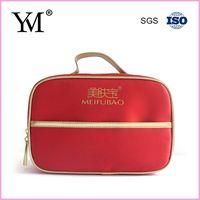 lady satin cosmetic bag beauty set bag China thumbnail image