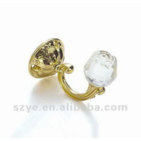 S-zone manufacture Crystal curtain tieback hooks for home decoration