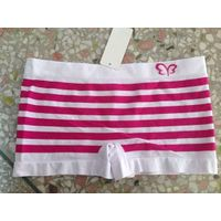 Ladies Seamless Jacquard Stripe Boxer, Seamless Boyshort, Underwear