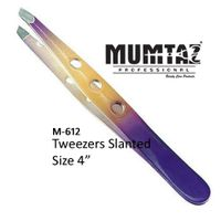 Nail Tweezers Slanted Coated