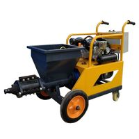 mortar sprayer machine