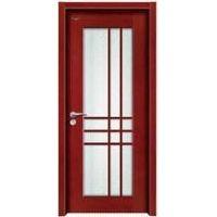 Painted wood door in single leaf internal room door supplier