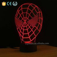 NL6 desktop 3D cool night lights for kids