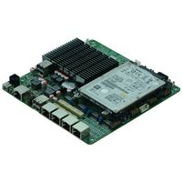 Intel J1900 Based MITX Fanless Cheap Firewall Motherboard for Network Security Application, 4Lan Byp