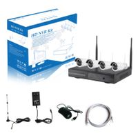 DIGICAM CCTV 4CH Wireless NVR KIT 1.0MP 1.3MP 2.0MP WiFi IP Camera Kit
