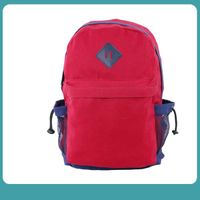 Cheap 600D polyester school backpack with zipper pocket bag