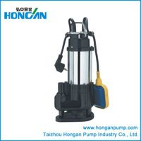 Stainless steel sewage submersible pump with float switch thumbnail image