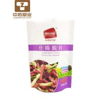 Custom printed snack dried food plastic packaging bag