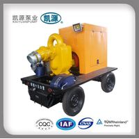 KYBC Kaiyuan Diesel Engine Driven Self Priming Portable Diesel Water Pump thumbnail image