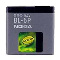 Nokia BL-6P replacement battery for cell phones thumbnail image