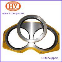 putzmeister concrete pump big mouth wear plate thumbnail image
