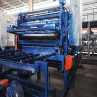 EPS Mineral Wool Sandwich Wall Panels Making Machinery Rockwool Sandwich Panel Production Line thumbnail image